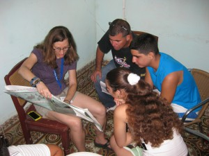 teach English to youth in Cuba