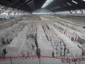 The Terracotta Warriors Museum in Xi'an