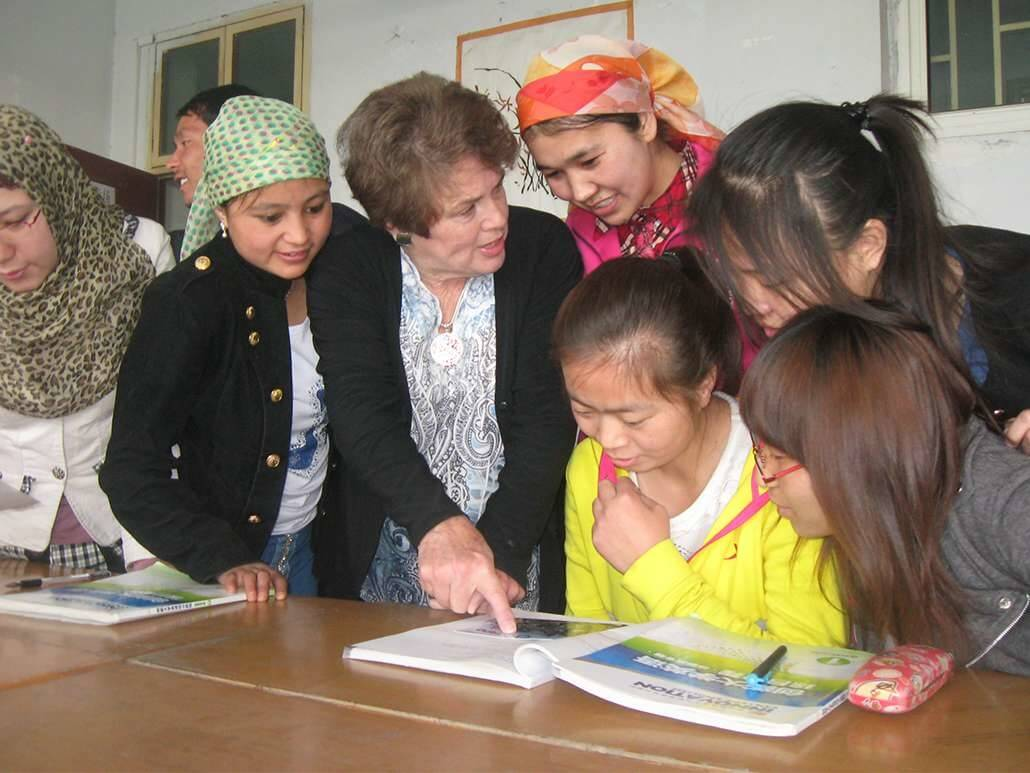 teach English to adults in China