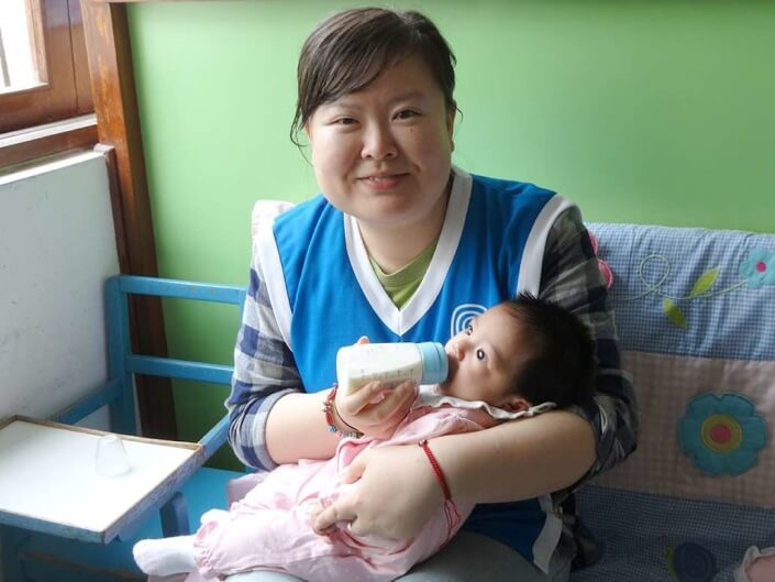 care for infants in Peru