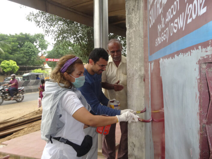 community volunteer projects in India