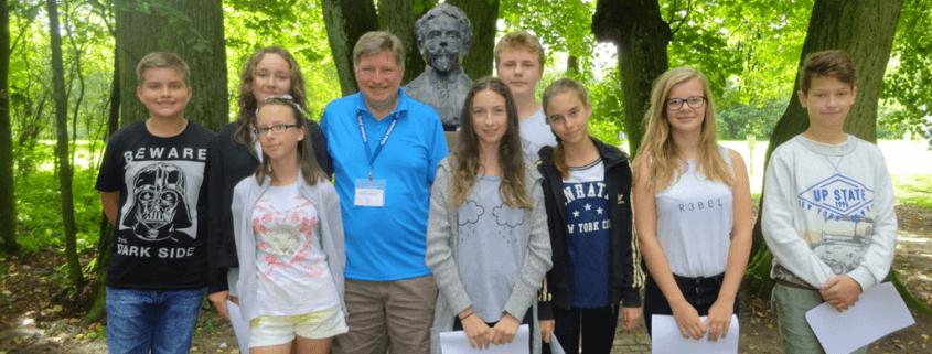 Teach children in Poland