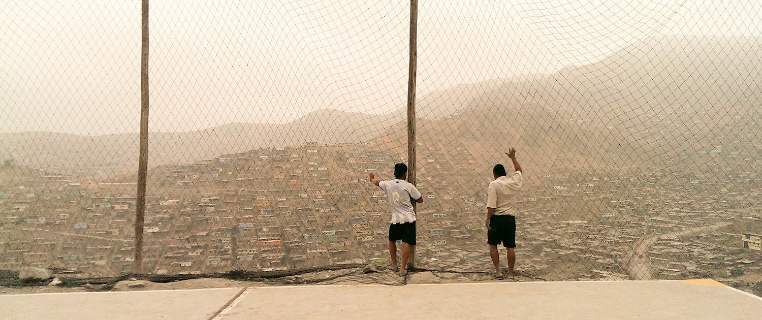 Poverty in Lima Peru