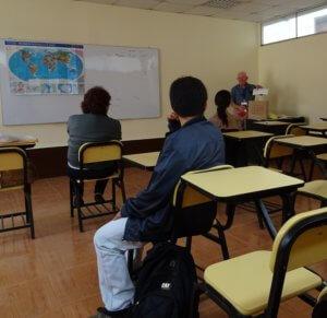 Using Professional Skills to Help in Peru