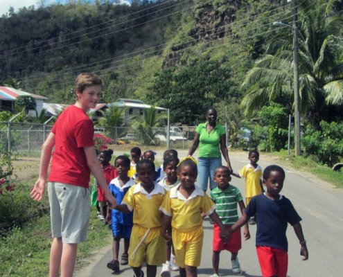St. Lucia Family Volunteer Vacations