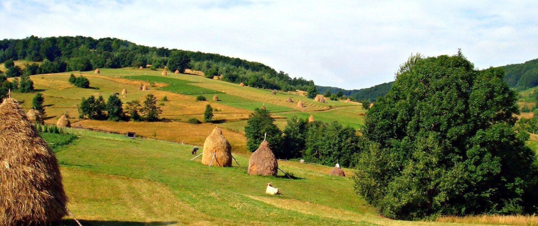 """Dracula's Castle"" in Romania."