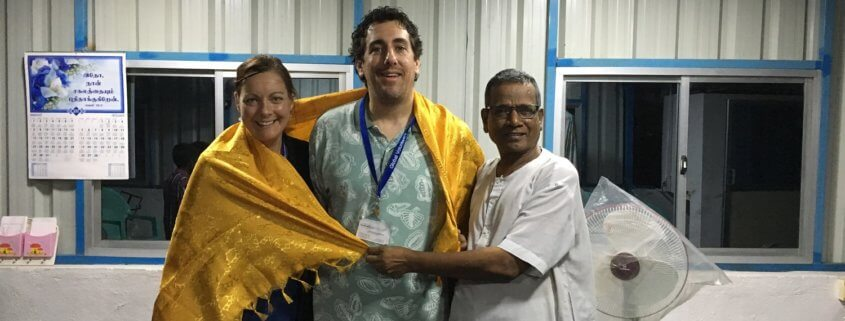 Wife Gets Husband to Come on a Volunteer Trip