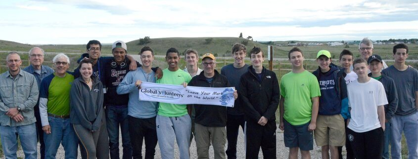 what is it like to volunteer at the Blackfeet Reservation
