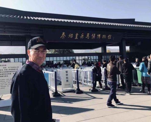 Bob Held in Xi'an, China