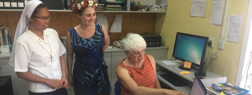 Kiwi volunteer