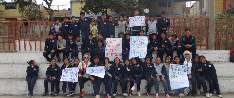 caring for children in Peru