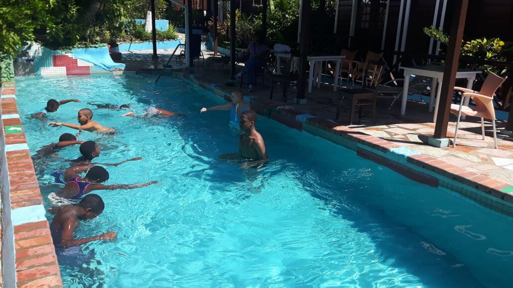 Swimming lessons make an impact in St. Lucia